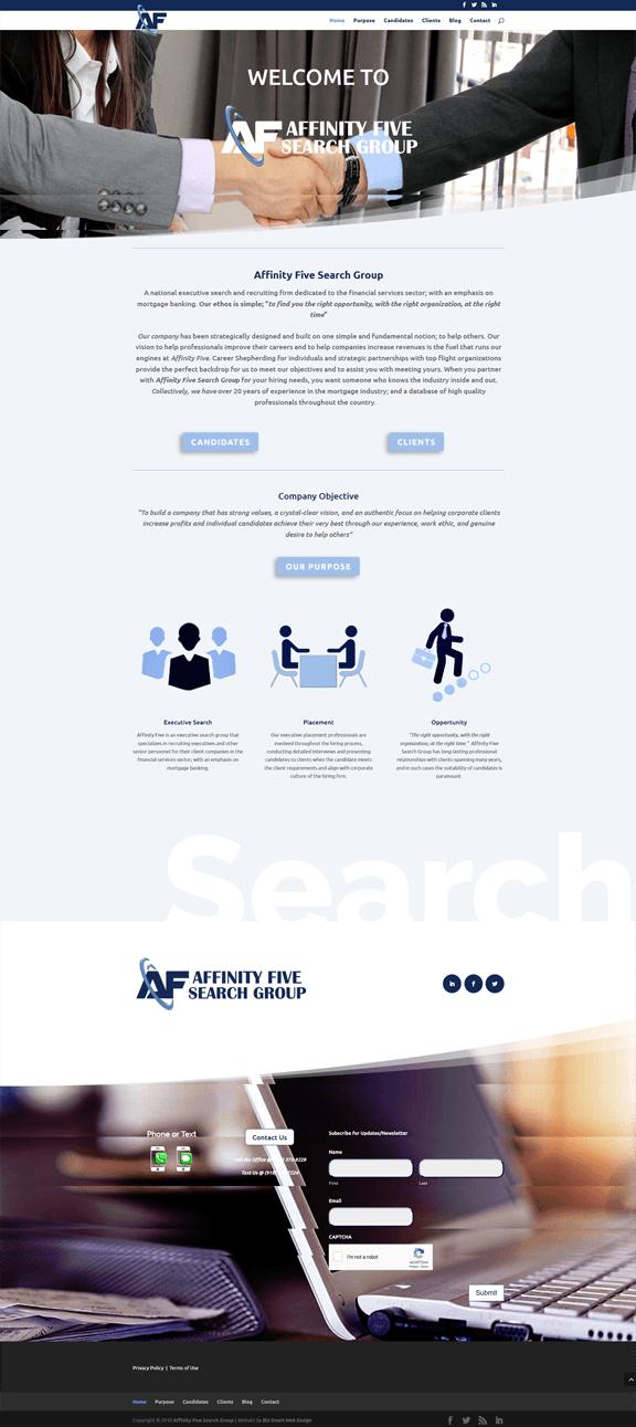 Affinity Five Website