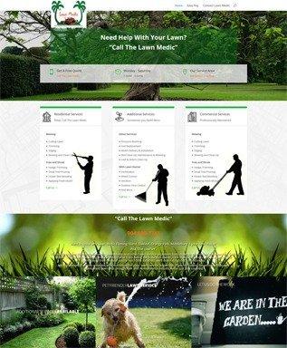 Lawn Medic Website Image